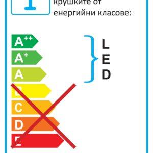 LED ОСВЕТЛЕНИЕ ЗА КАРТИНА/ ОГЛЕДАЛО MOSSARIO LED 62301
