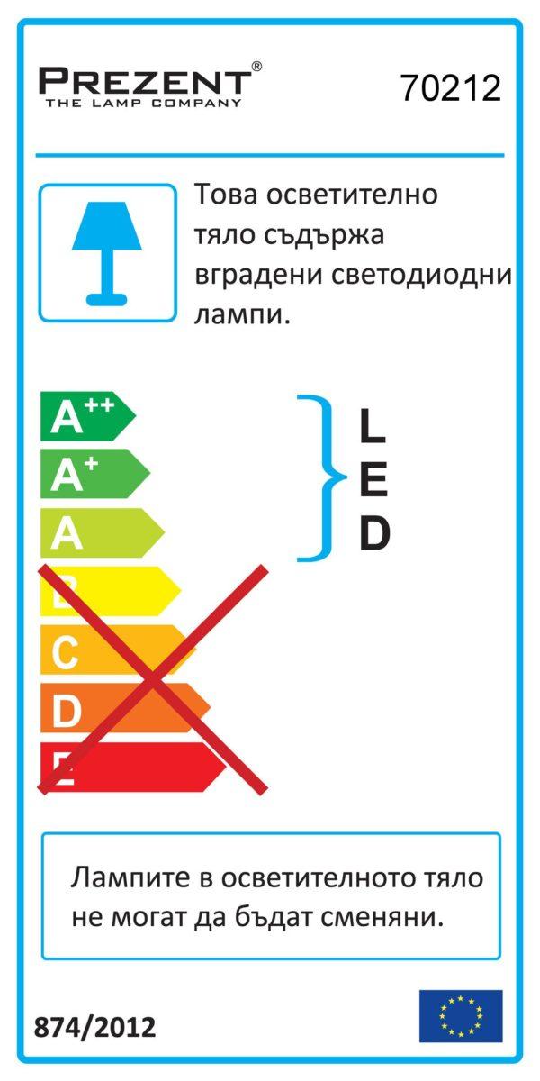 АПЛИК JIZO LED DUALFIX 70212